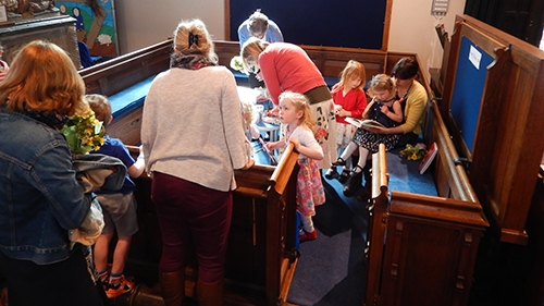 Children's area in church.